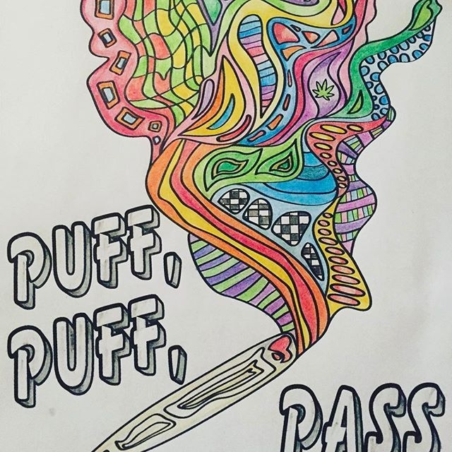 stoner coloring pages - stoner art
