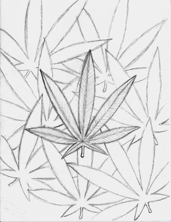 stoner coloring pages - weed stoner drawings sketch templates