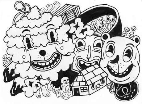 stoner coloring pages - coby walsh