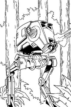 storm trooper coloring page -