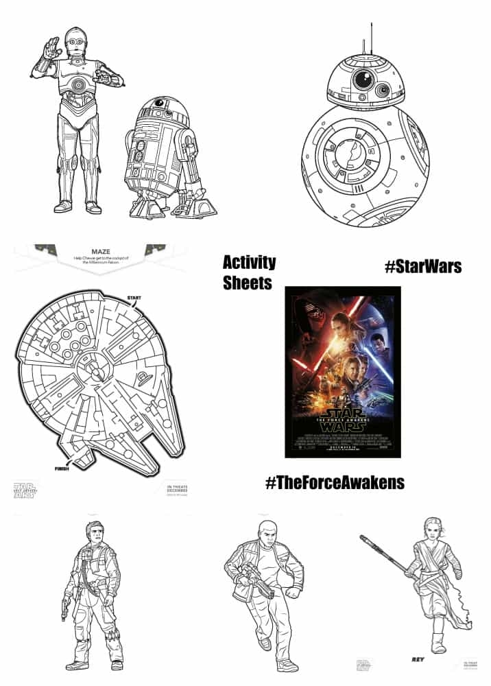 stormtrooper coloring page - star wars activities