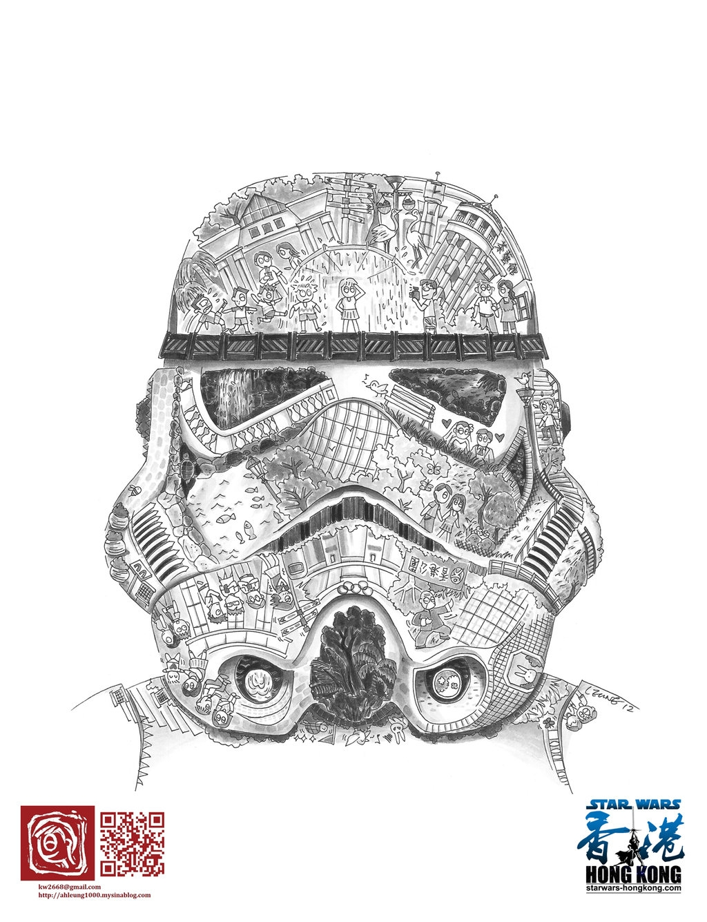 stormtrooper coloring page - Stormtrooper
