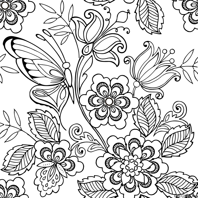 stress free coloring pages - 4790