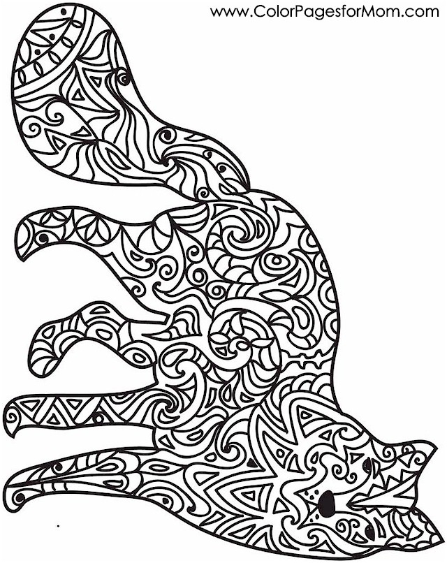 Stress Relief Coloring Pages - Animal Coloring Pages Stress Relief Coloring Pages
