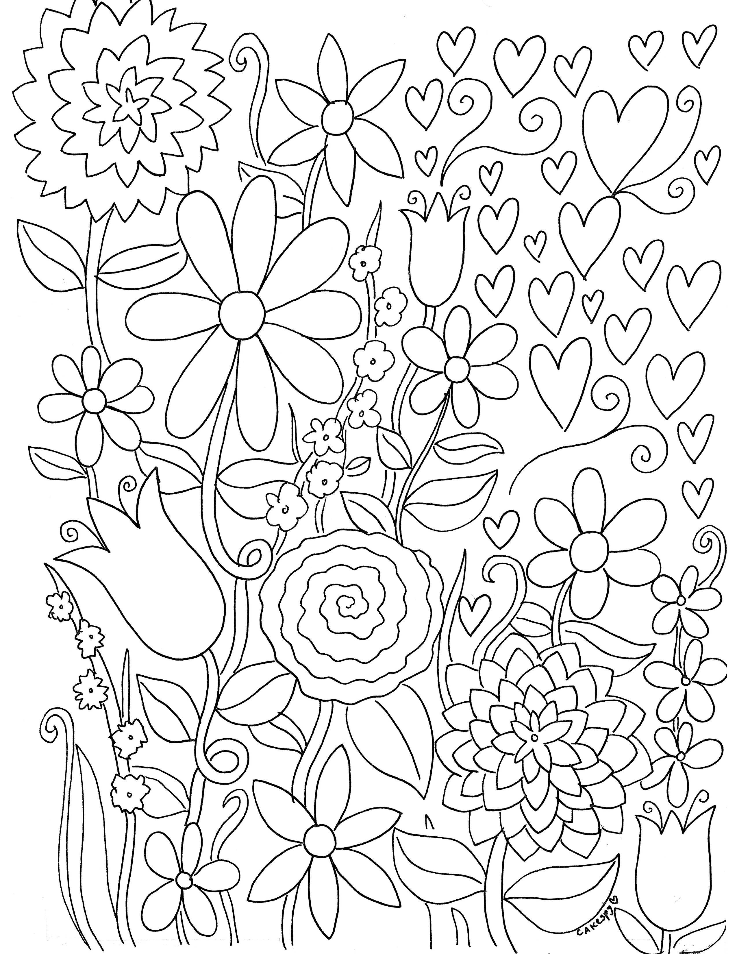 stress relief coloring pages - free coloring media