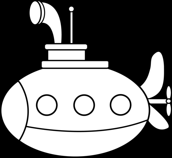 submarine coloring pages - cute submarine coloring page 1931
