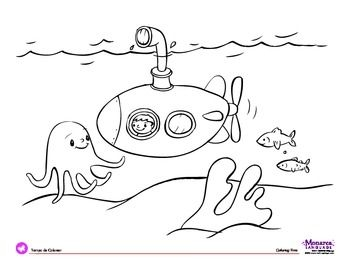 25 Submarine Coloring Pages Pictures | FREE COLORING PAGES - Part 3