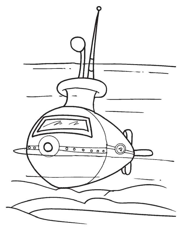 Submarine Coloring Pages - Submarine D Colouring Pages Sketch Coloring Page