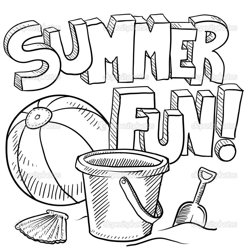 summer fun coloring pages - summer coloring pages for adults 318