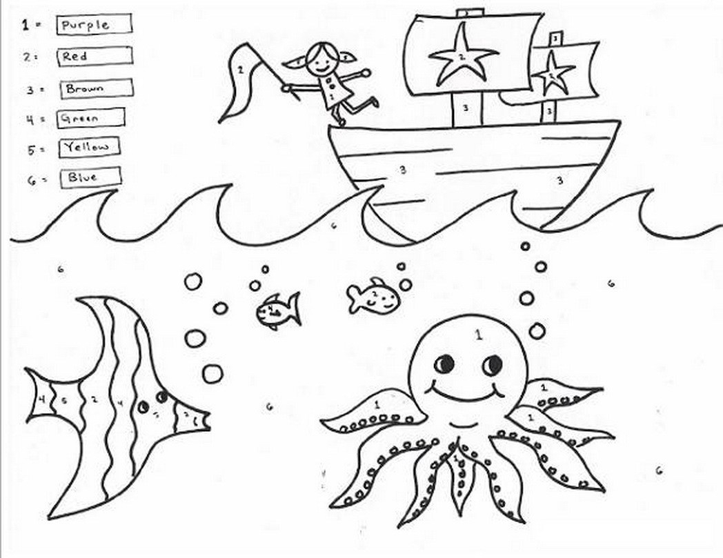summertime coloring pages - holiday