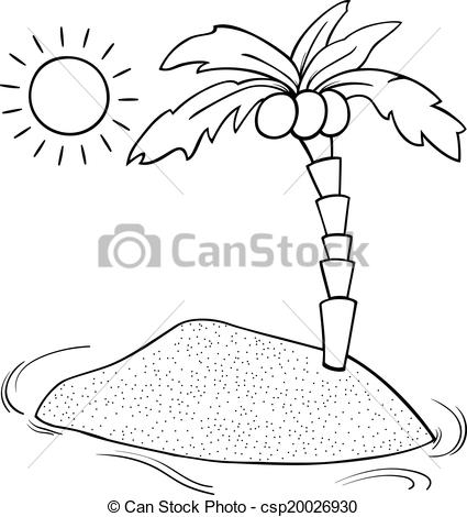 20 Sunset Coloring Pages Printable