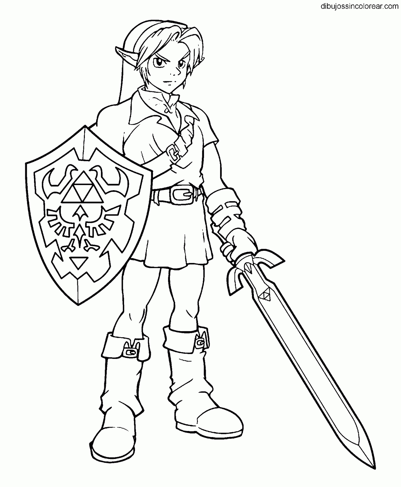 super smash bros coloring pages - dibujos de personajes de super smash