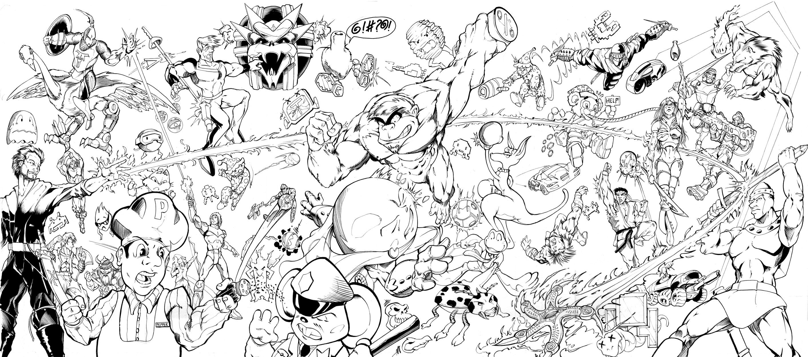 super smash bros coloring pages - samus super smash bros coloring pages