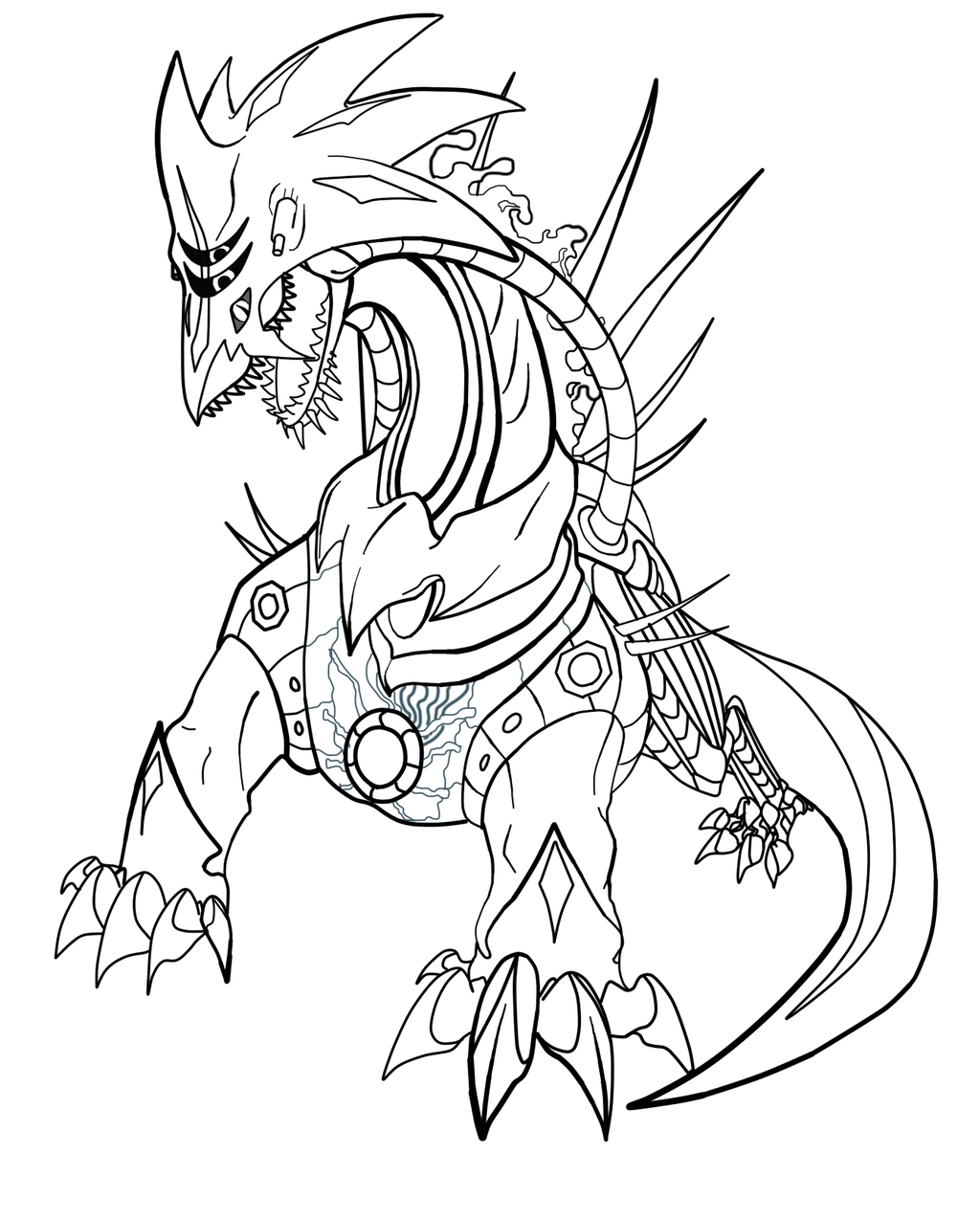 Super sonic Coloring Pages - Super sonic and Super Shadow and Super Silver Coloring