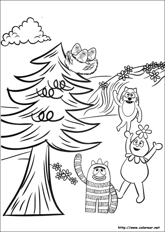 Super why Coloring Pages - Dibujos Para Colorear De Yo Gabba Gabba