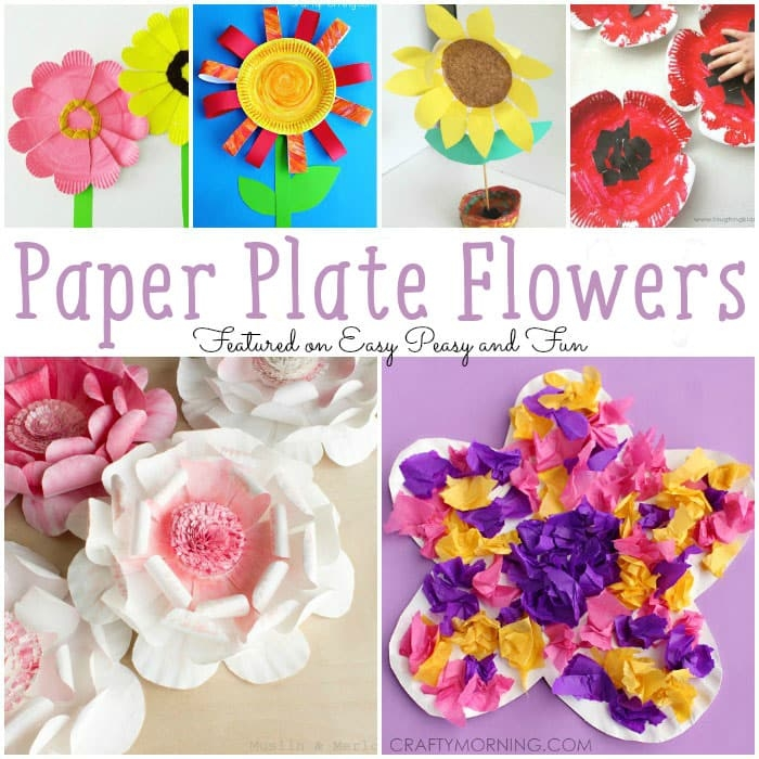Super why Coloring Pages - Paper Plate Flowers Easy Peasy and Fun