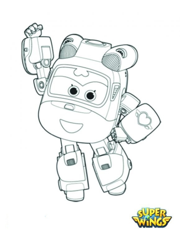 super wings coloring pages - super wings free coloring image pages