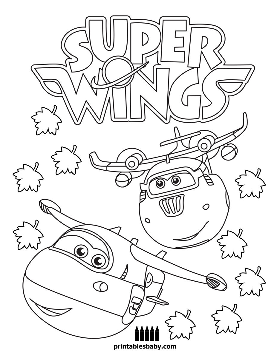 27 Super Wings Coloring Pages Images | FREE COLORING PAGES