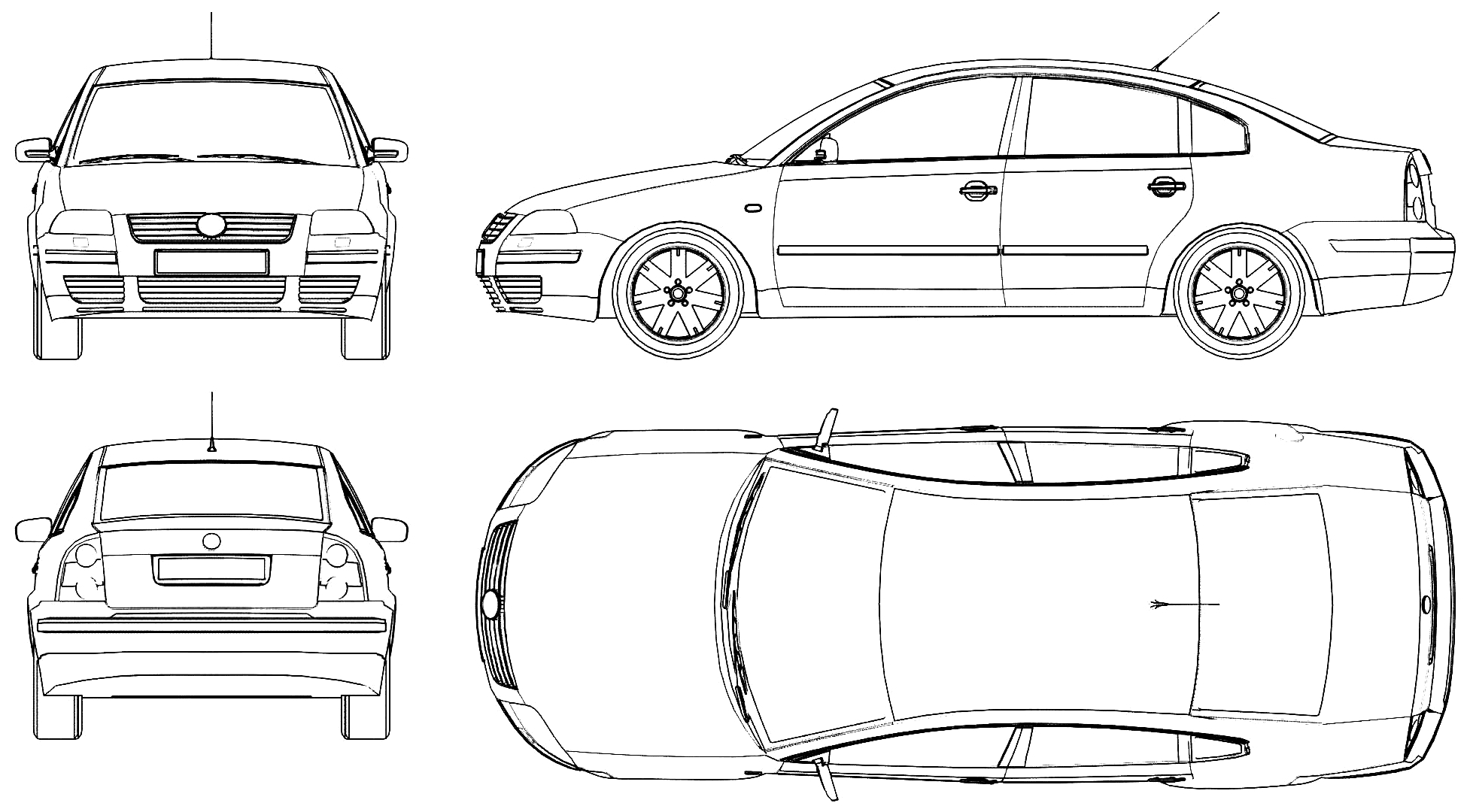 Cute Blueprint Of Car Contemporary - Simple Wiring Diagram Images ...