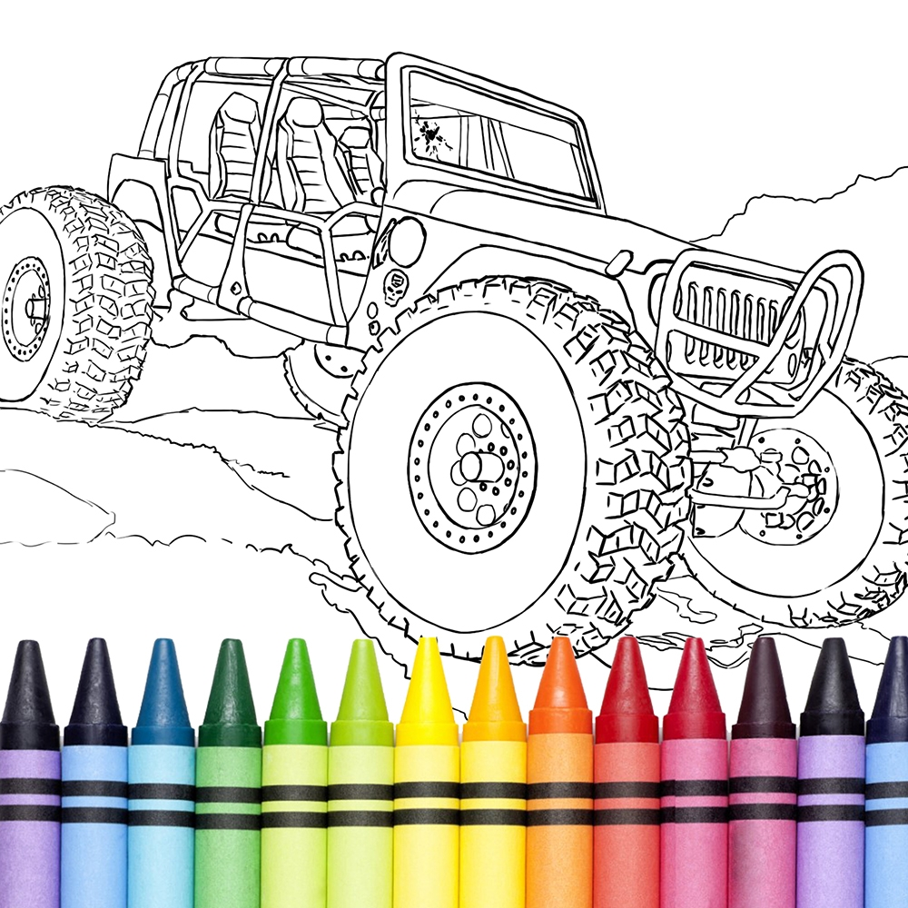 23 Supercar Coloring Pages Pictures