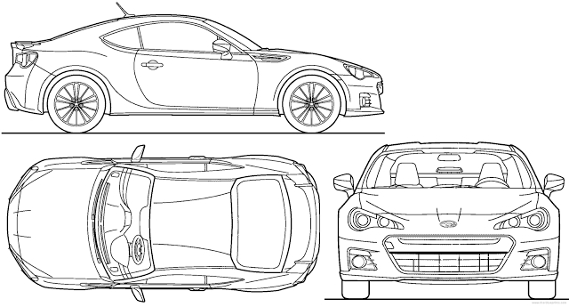 Supercar Coloring Pages   Most Loved Car Blueprints For 3d Modeling