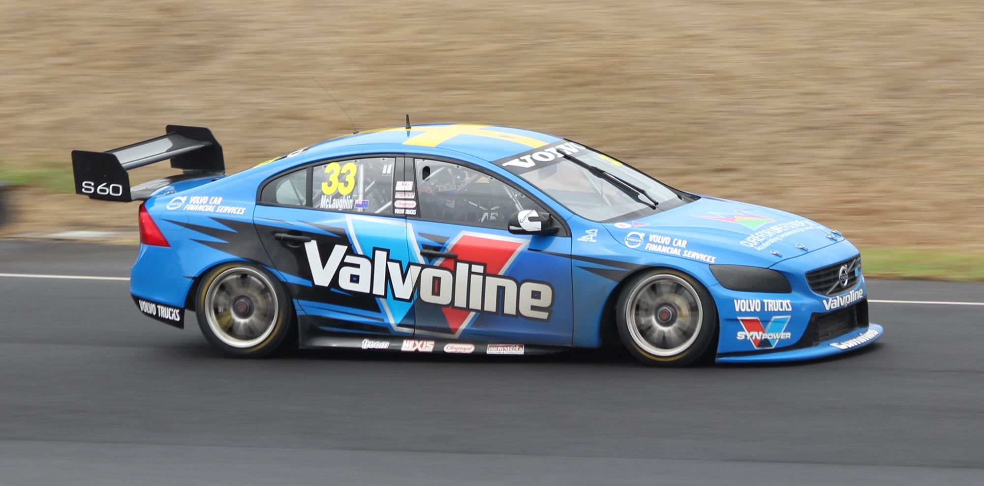 supercar coloring pages - File Scott McLaughlin Volvo S60 2014 V8 Supercar Test Day