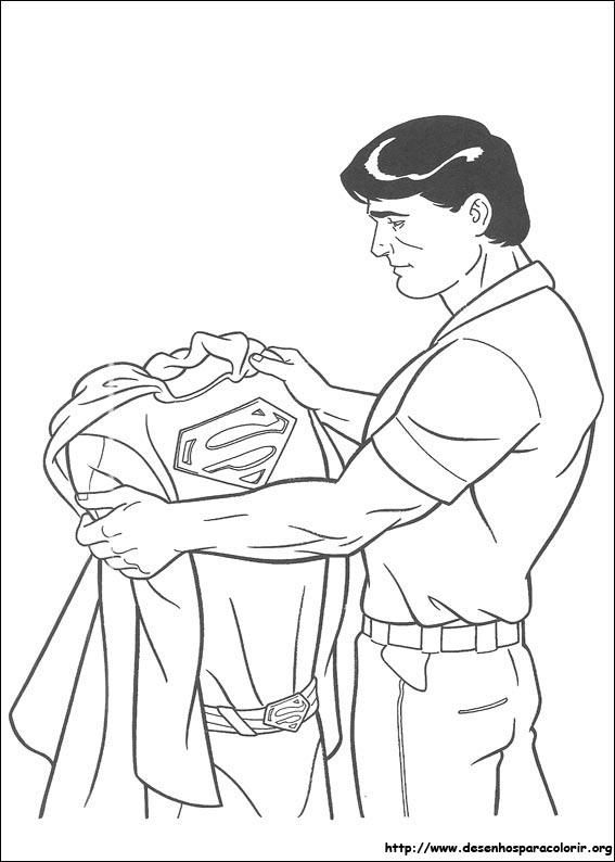 supergirl coloring page - desenhos id=3927