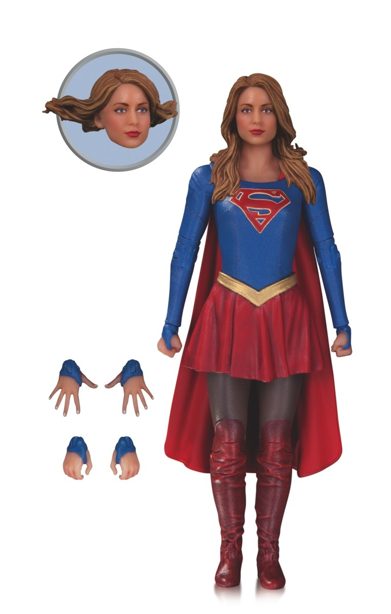 supergirl coloring page - dc collectibles les heros dctv crevent lecran
