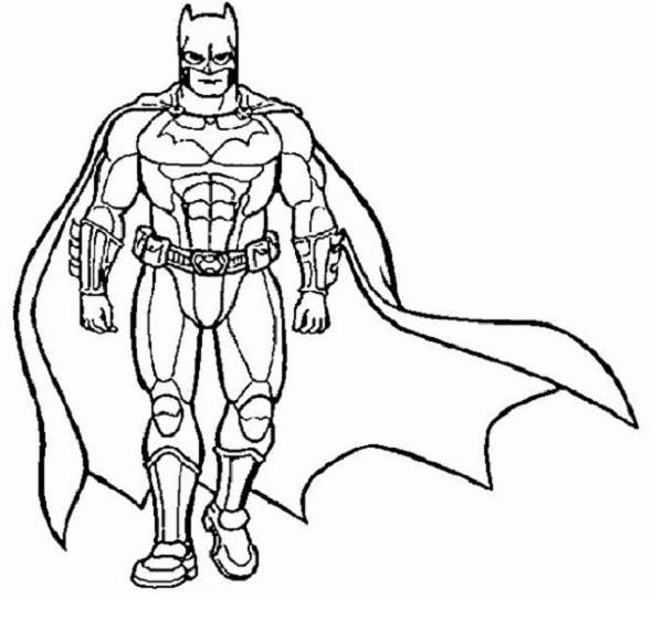 Superhero Coloring Pages - Printable Superhero Coloring Pages