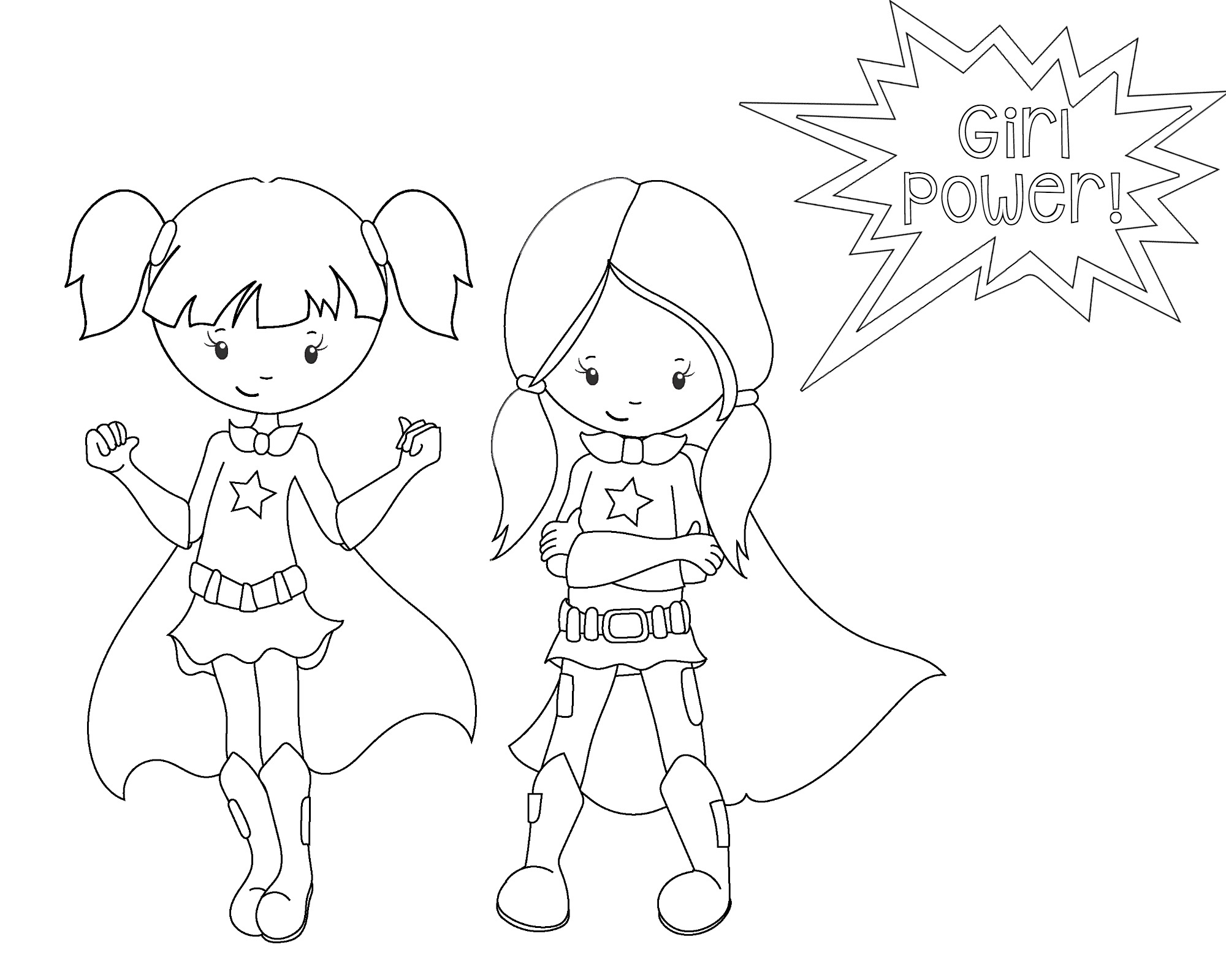 Superhero Coloring Pages - Superhero Coloring Pages Crazy Little Projects