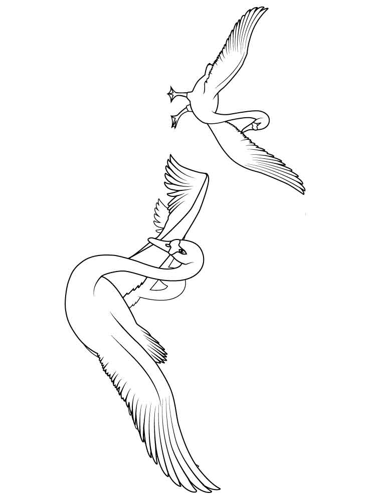 20 Swan Coloring Pages Collections Free Coloring Pages Part 3