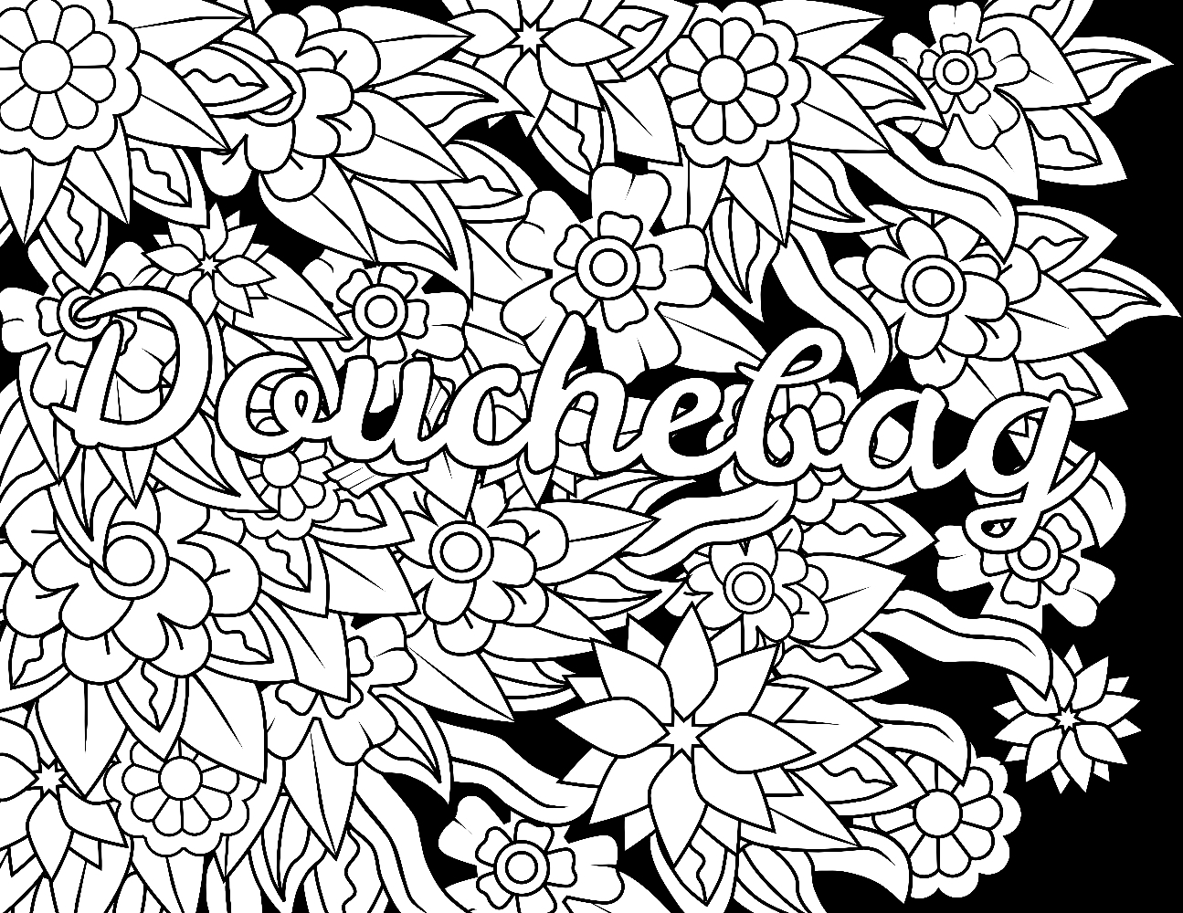 swear coloring pages -