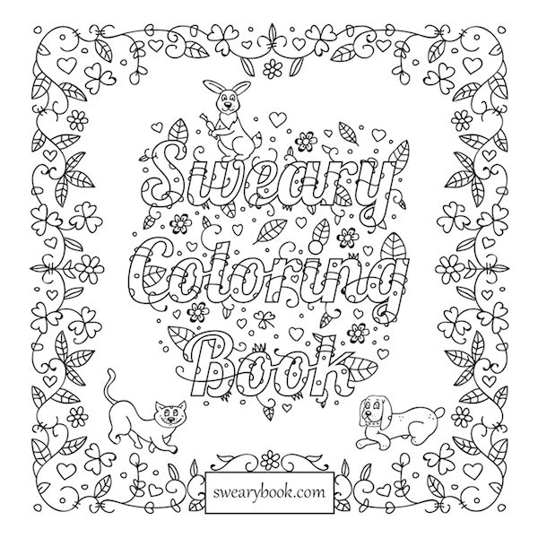 Swear Word Coloring Pages Download