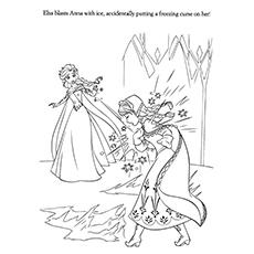swear word coloring pages printable - frozen coloring pages