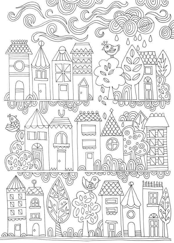 swear word coloring pages - free colouring poster tiny town