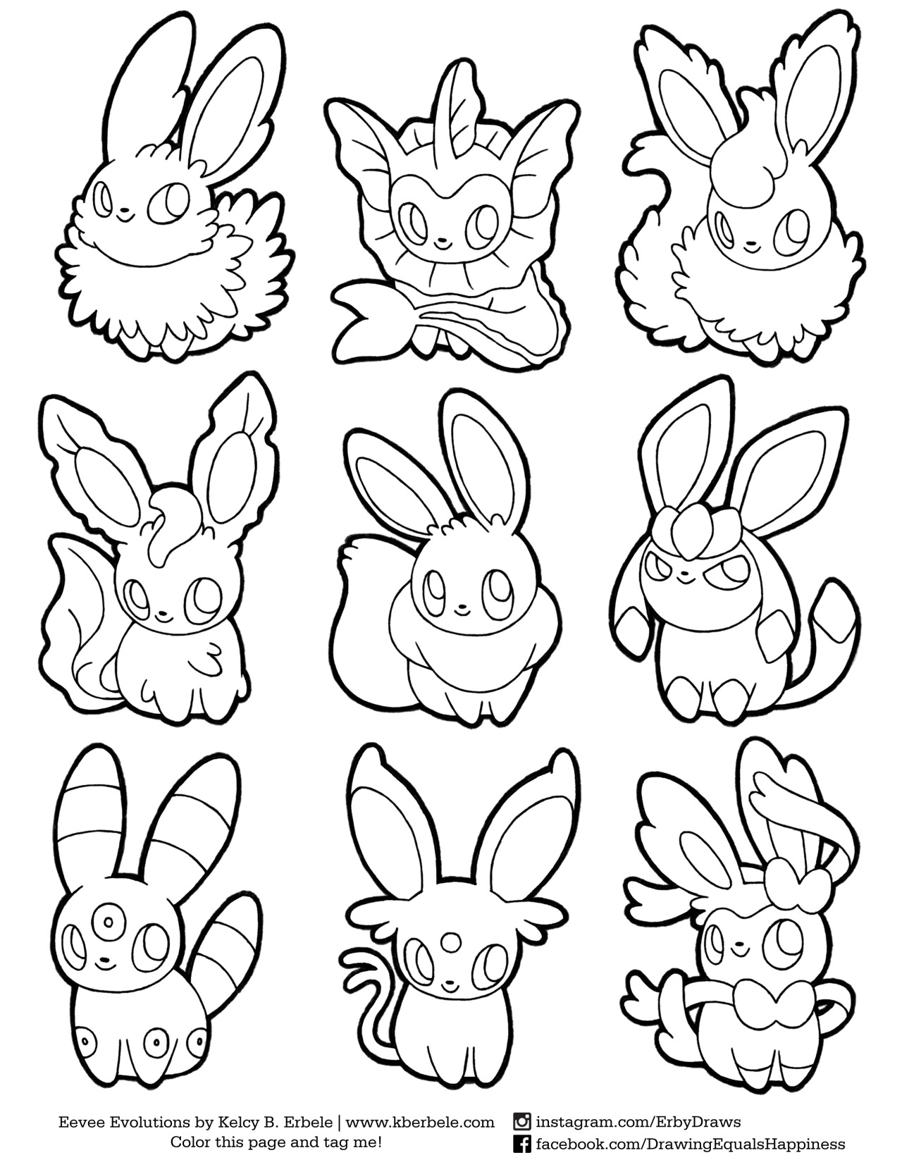 Sylveon Coloring Pages - Eeveelution Coloring Page the File is On My Drawing