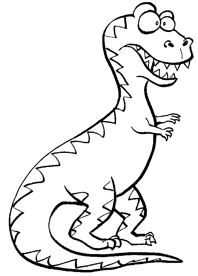 t rex coloring page - q=dinosaurus t rex