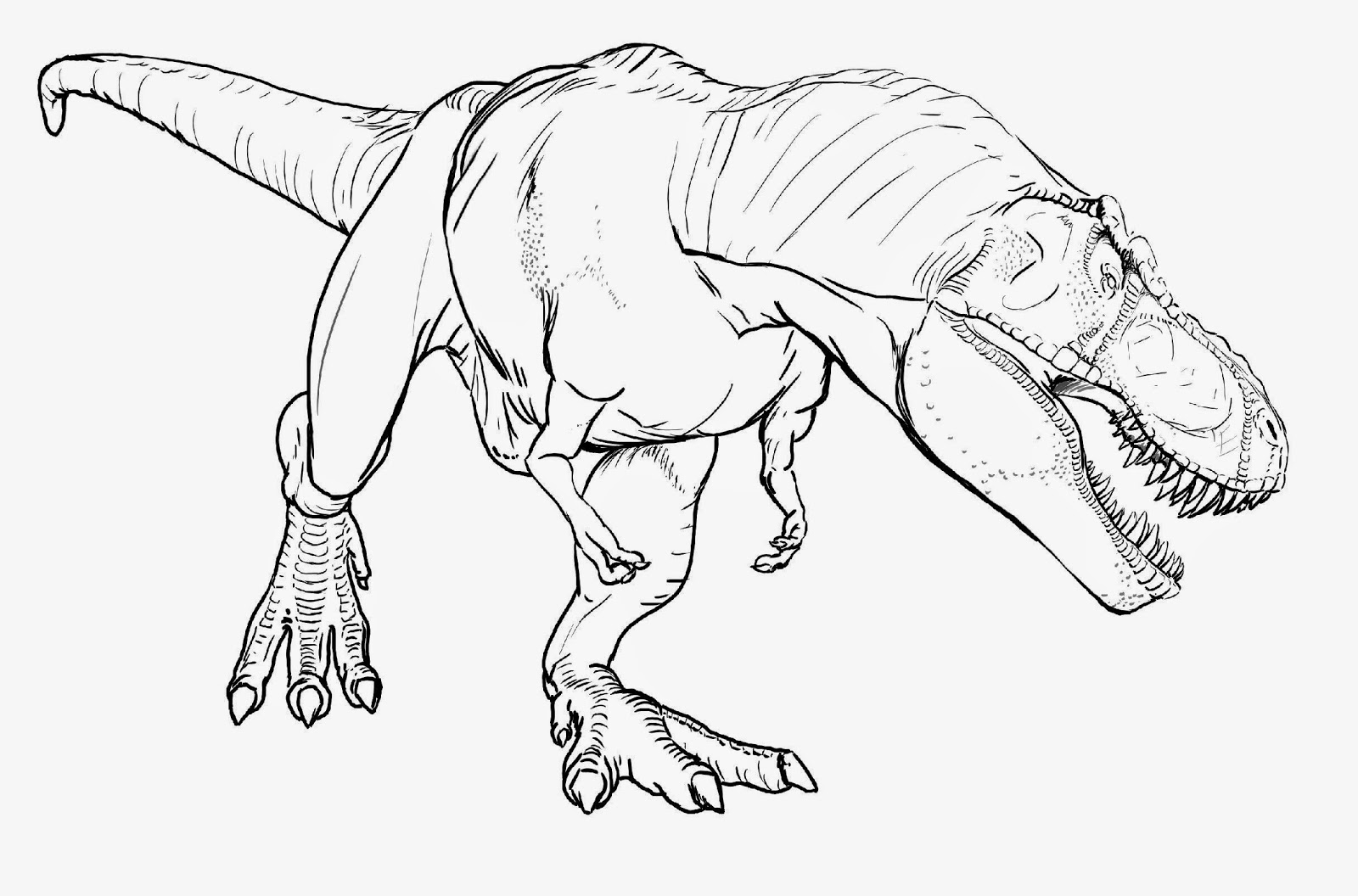 t rex coloring page - rex coloring book