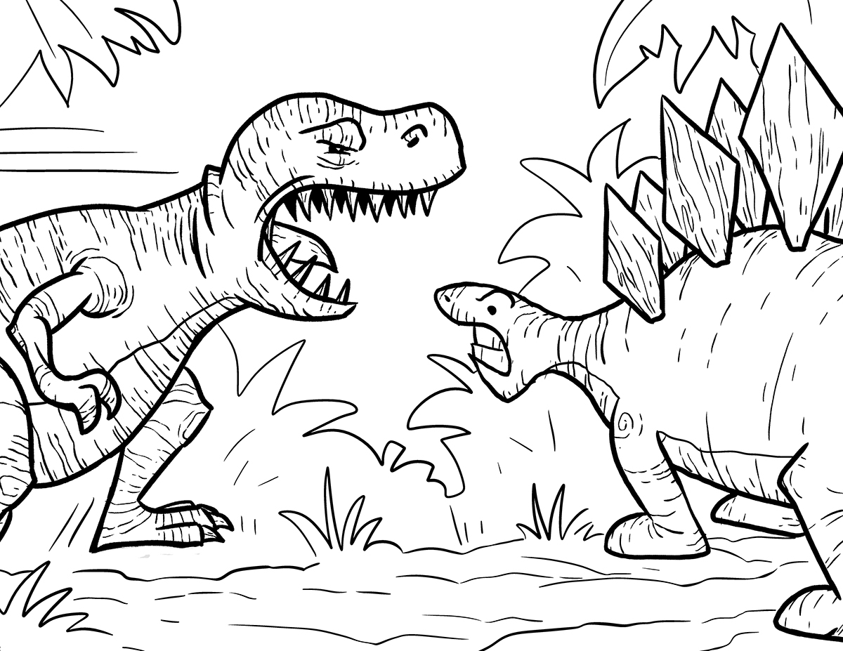 t rex coloring page - tyrannosaurus rex coloring pages