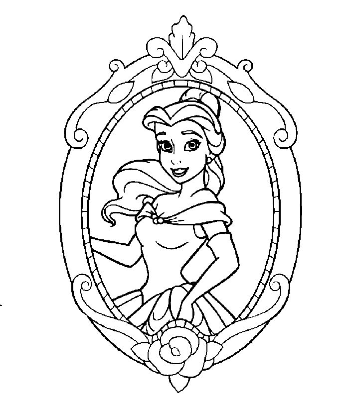 tangled coloring pages - disney kleurplaten