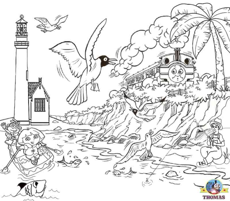 tank coloring pages - thomas the tank engine friends free online games and toys for kids