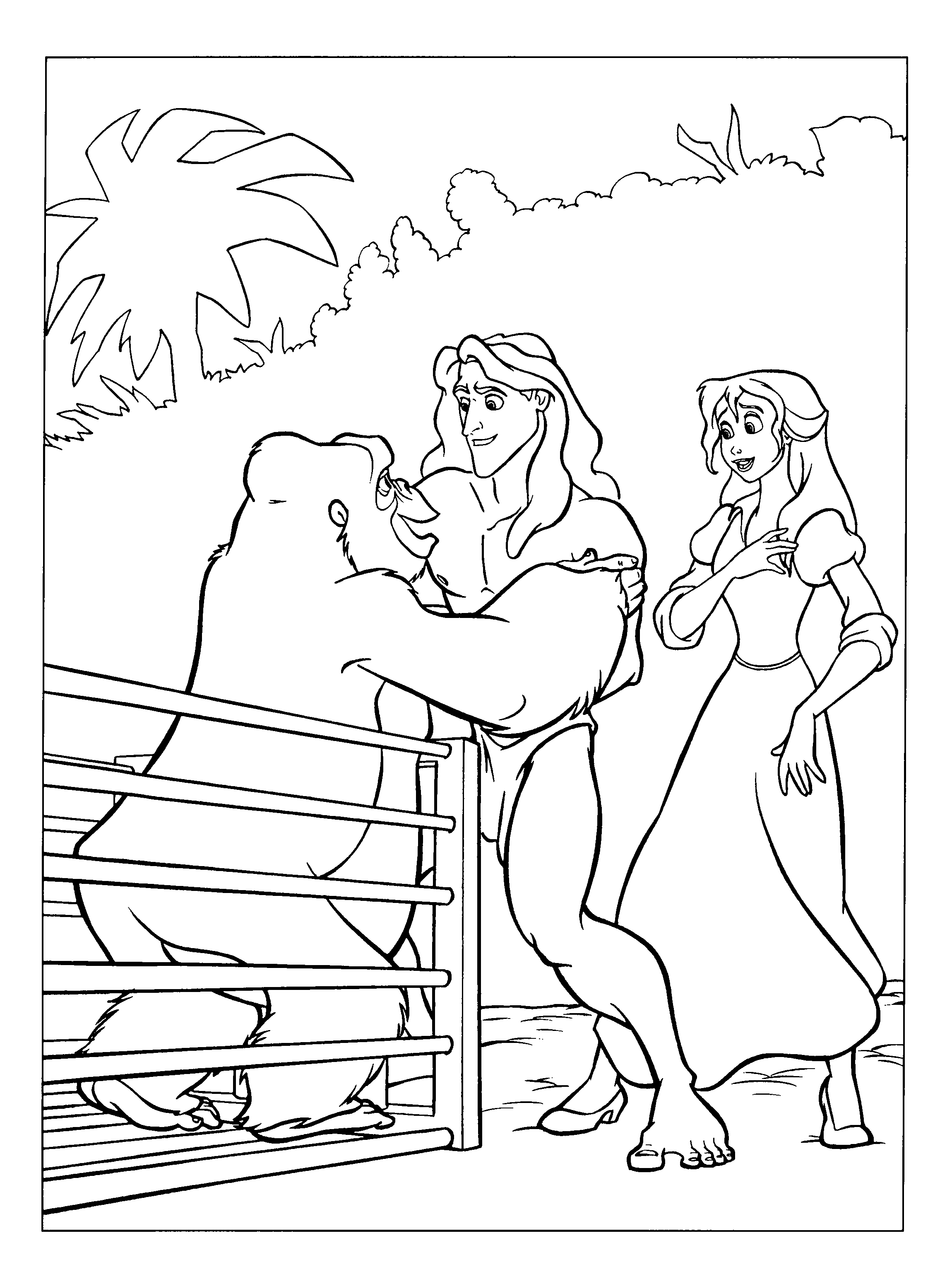 20 Tarzan Coloring Pages Images | FREE COLORING PAGES