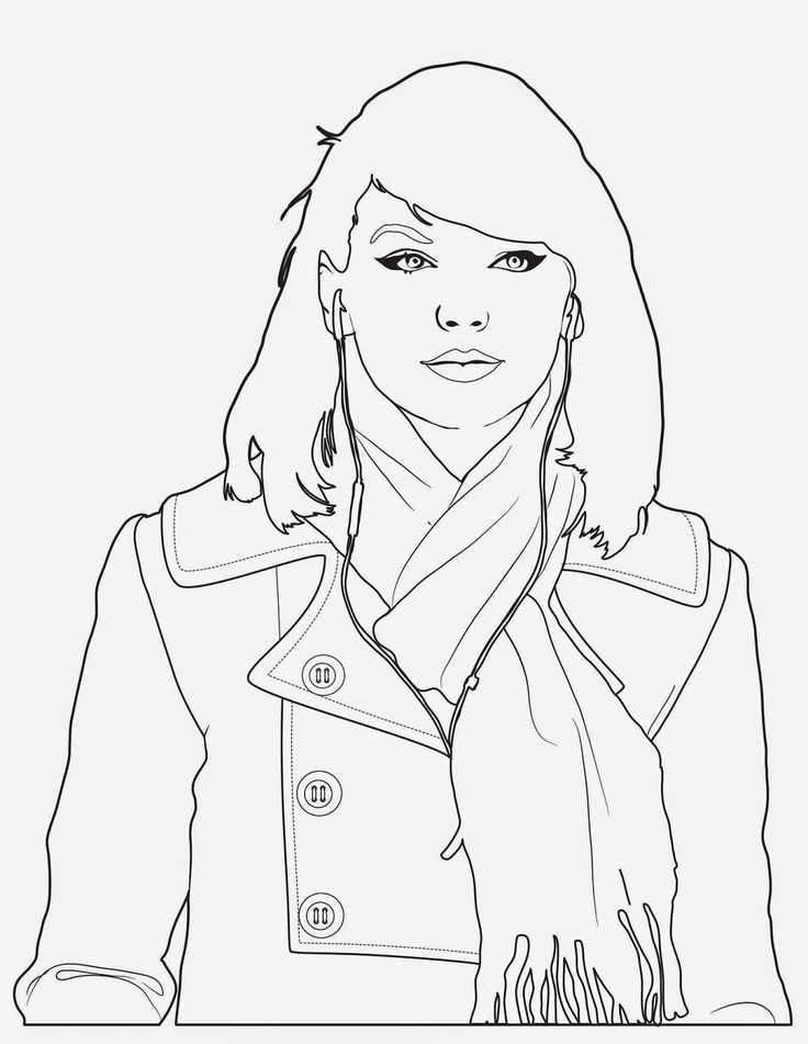 taylor swift coloring pages - coloring food