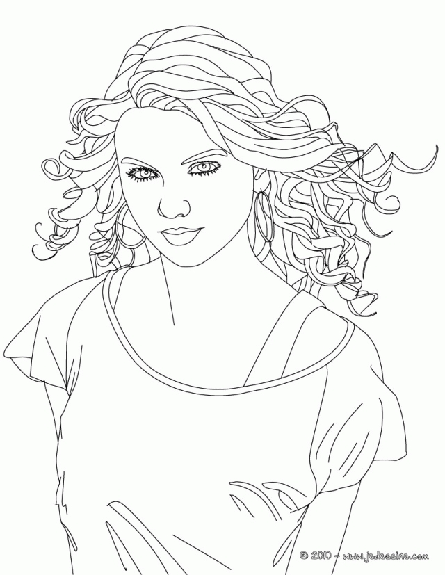 taylor swift coloring pages - taylor swift coloring pages for kids