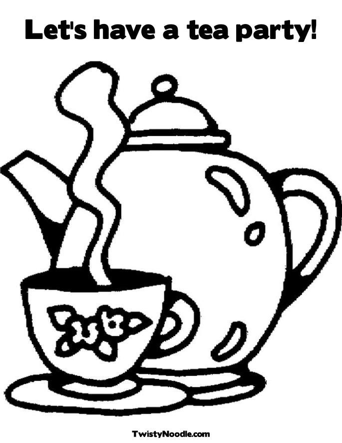 21 Tea Cup Coloring Page Images | FREE COLORING PAGES