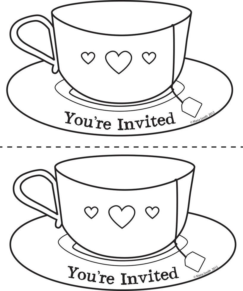 21 Tea Cup Coloring Page Images FREE COLORING PAGES