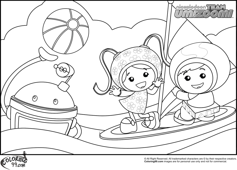 team umizoomi coloring pages - team umizoomi coloring pages
