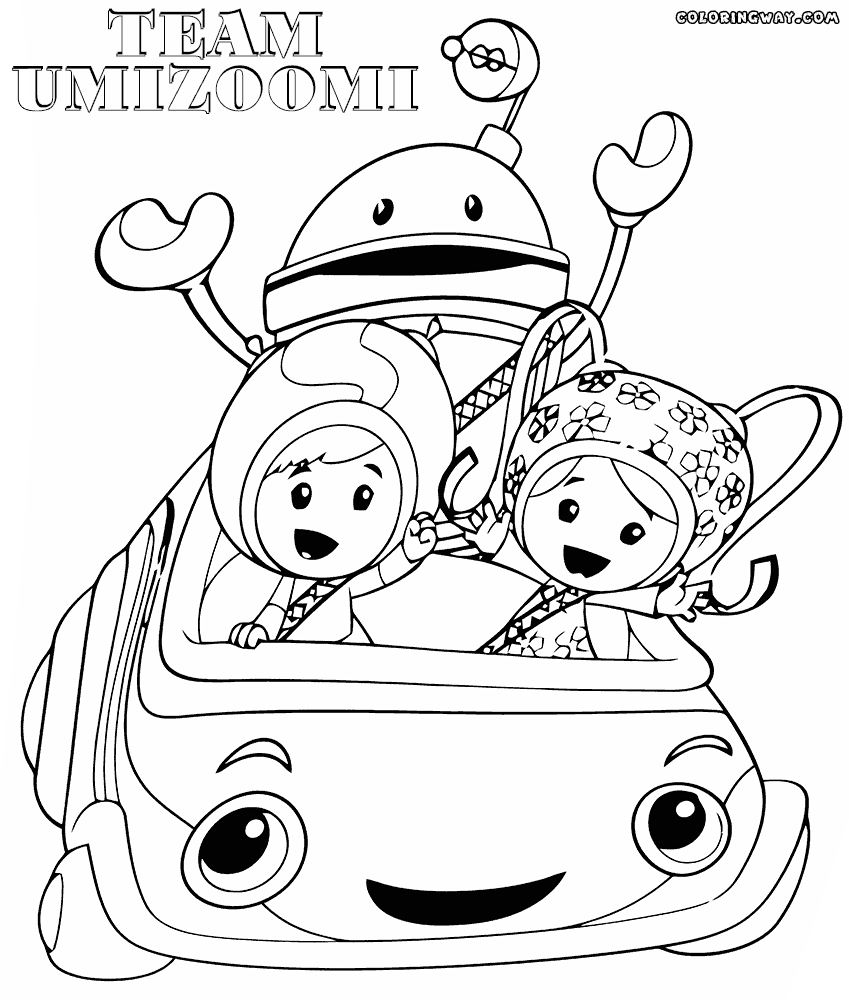 team umizoomi coloring pages - team umizoomi printable coloring pages