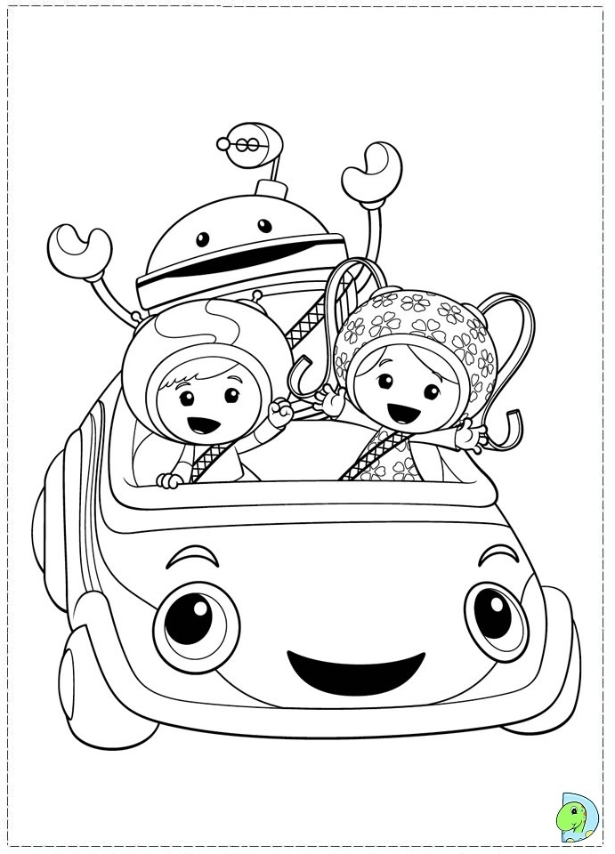team umizoomi coloring pages - umizoomi coloring pages