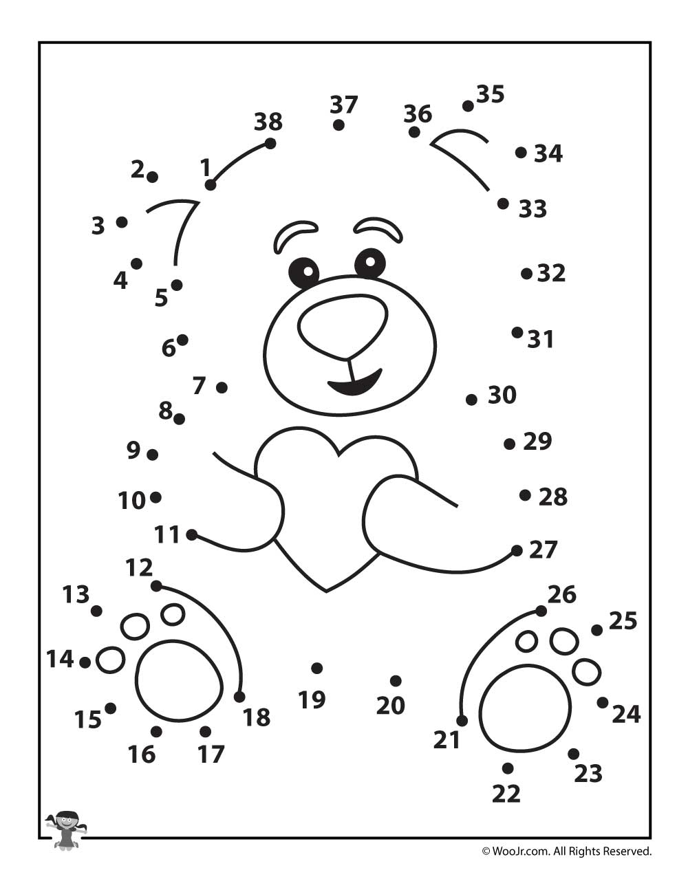 teddy bear coloring pages - teddy bear printable
